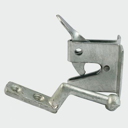 Picture of HEAVY AUTOMATIC GATE LATCH AGLHGP GALVANISED  50mm 2""