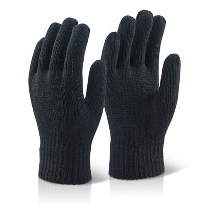 Picture of ACRYLIC GLOVE BLACK