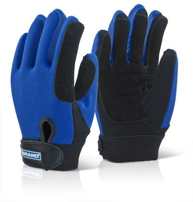 Picture of B-BRAND POWER TOOL GLOVE MED