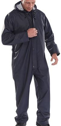 Picture of BRECON TRAN/COAT C/ALL NAVY  S