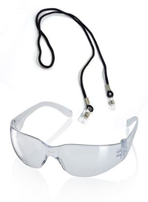 Picture of ANCONA CLEAR SAFETY SPECTACLE C/W CORD
