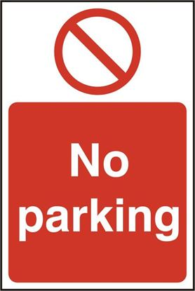 Picture of NO PARKING RPVC (PK5) 200MM X 300MM