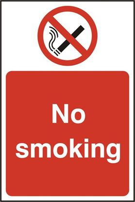 Picture of NO SMOKING RPVC (PK5) 200MM X 300MM
