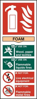 Picture of FIRE EXTINGUISHER FOAM SAV PK5 82MM X 202MM