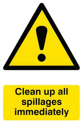 Picture of CLEAN UP ALL SPILLAGES 200MM X 300MM