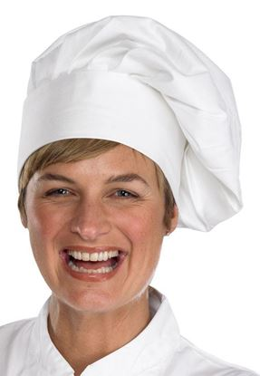 Picture of CHEFS TALL HAT W ONE SIZE VELC