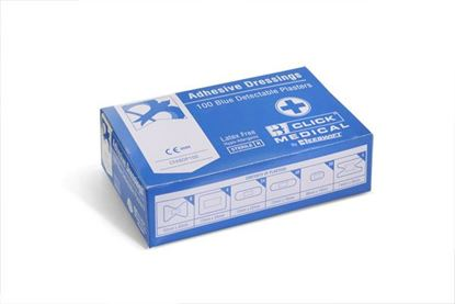 Picture of ASSORTED BLUE PLASTERS (100)