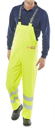 Picture of FRAS SAT YELLOW BIB XXXL