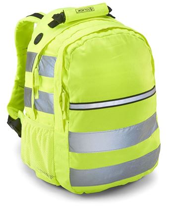Picture of HIVIZ RUCKSACK SAT/YELLOW