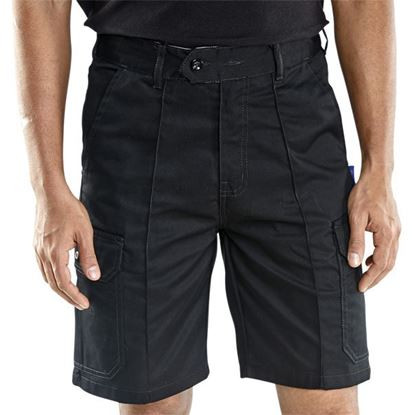 Picture of CLICK C/POCKET SHORTS BLACK 34