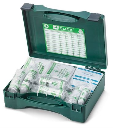 Picture of 1-10 HSA IRISH FIRST AID KIT WITH EYEWASH