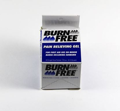 Picture of CLICK MEDICAL BURN GEL SACHETS 20 PER BOX