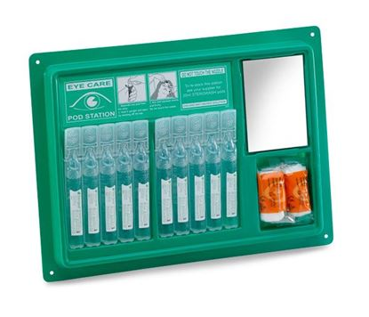 Picture of CLICK MEDICAL EYEWASH POD STATION (10x20ml)
