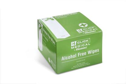 Picture of CLICK MEDICAL ALCOHOL FREE WIPES PK 100