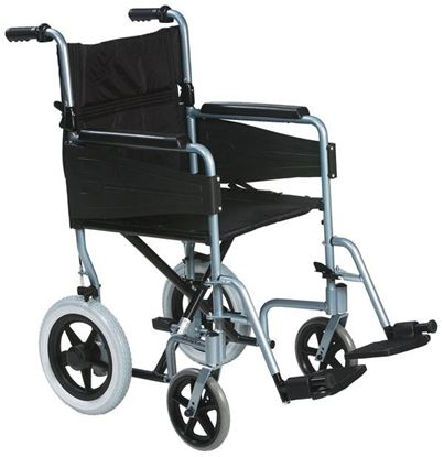 Picture of CLICK MEDICAL LIGHTWEIGHT TRANSIT WHEELCHAIR