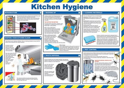 Picture of CLICK MEDICAL KITCHEN HYGIENE POSTER A780