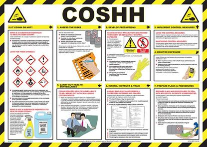 Picture of CLICK MEDICAL COSHH POSTER A704