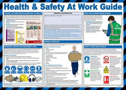 Picture of CLICK MEDICAL HEALTH AND SAFETY AT WORK POSTER A607
