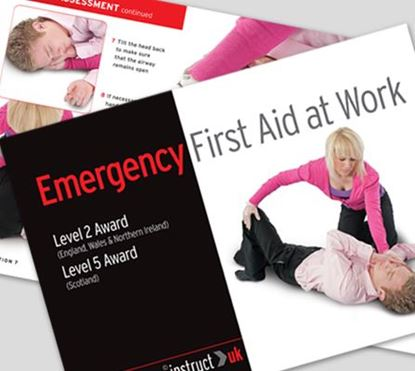 Picture of CLICK MEDICAL EMERGENCY FIRST AID BOOK
