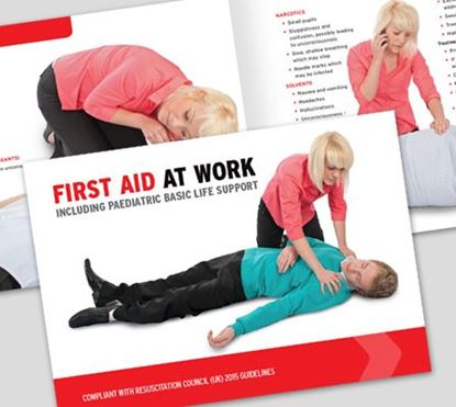 Picture of CLICK MEDICAL FIRST AID AT WORK BOOK