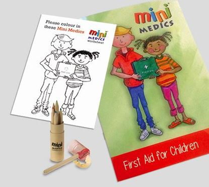 Picture of CLICK MEDICAL KIDS FIRST AID PACK/PENCIL