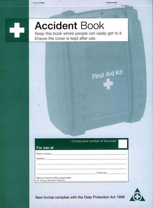Picture of ACCIDENT BOOK DPA COMPLIANT (Q3200)