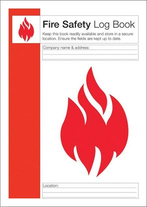 Picture of CLICK MEDICAL FIRE SAFETY LOG BOOK (Q4127)