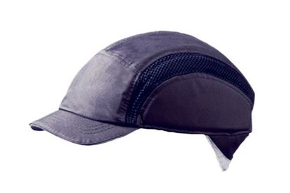 Picture of AIRPRO BASEBALL BUMP CAP REDUCED PEAK NAVY