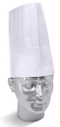 "Picture of DISP CHEFS HAT 9"" WH"