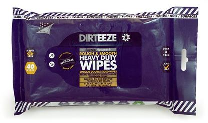 Picture of ROUGH AND SMOOTH WIPES (PACK OF 40)