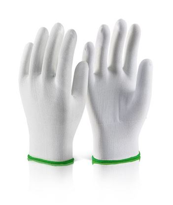 Picture of POLYESTER KNITTED LINER GLOVE WHITE M (SIZE 8)