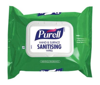Picture of PURELL HAND/SURFACE SANITISING WIPES(SOFT PK) CASE/40