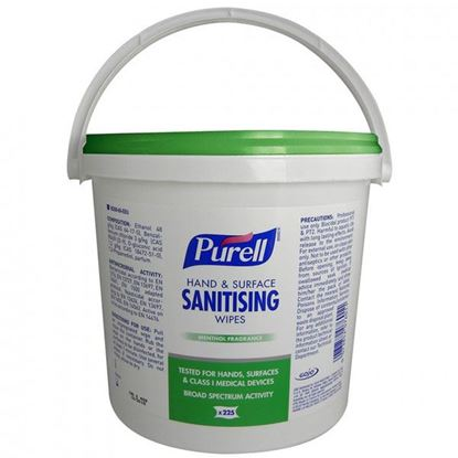 Picture of PURELL HAND AND SURFACE SANITISING WIPES(BUCKET)CASE/6