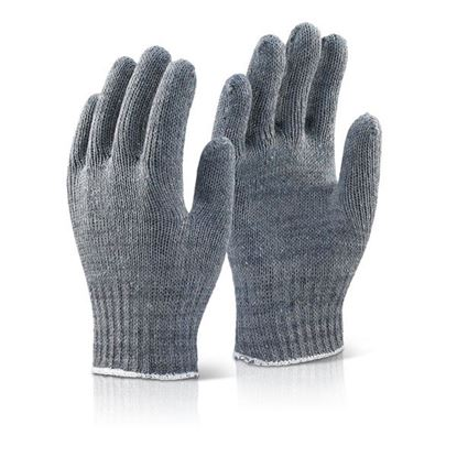 Picture of MIXED FIBRE GLOVES GREY