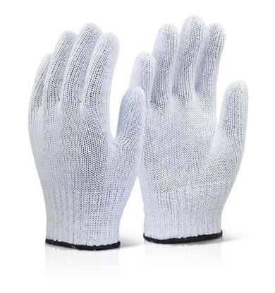 Picture of MIXED FIBRE GLOVES WHITE