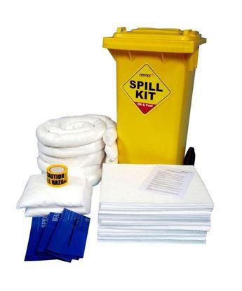 Picture of OIL & FUEL WHEELIE BIN SPILL KIT