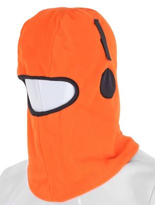 Picture of BALACLAVA HOOK AND LOOP ORANGE THINSULATE LINED